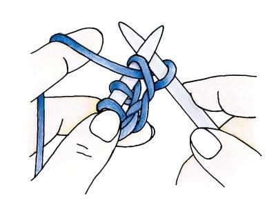 как вязать изнаночную петлю1