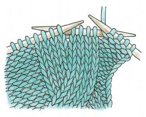 вязание кос с дополнительной спицей