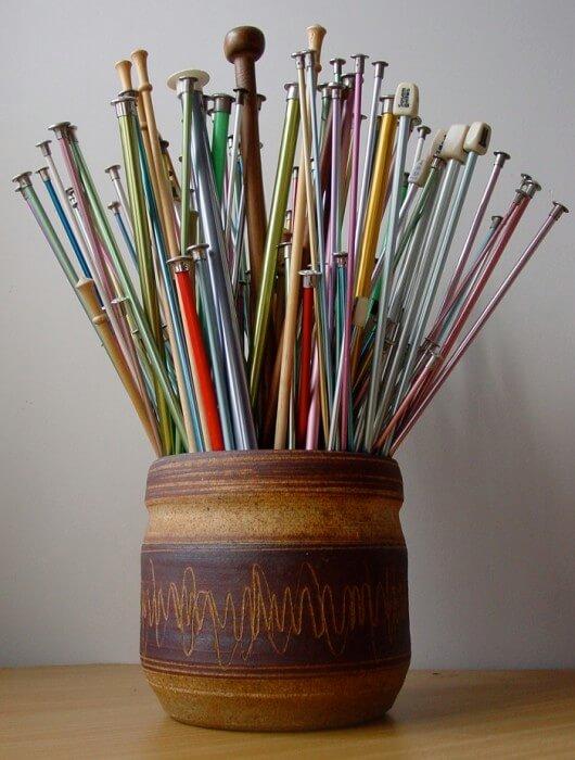 needle-pot