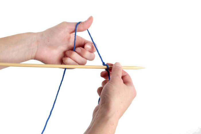 Завязывание скользящего узла